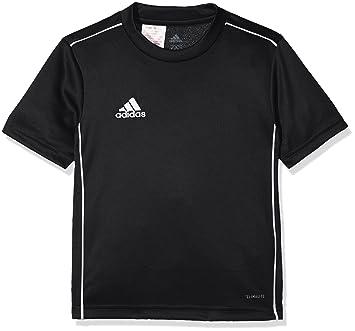 4e5ad584cb1 adidas Kinder Core 18 Trikot Black/White 116: Amazon.de: Sport ...