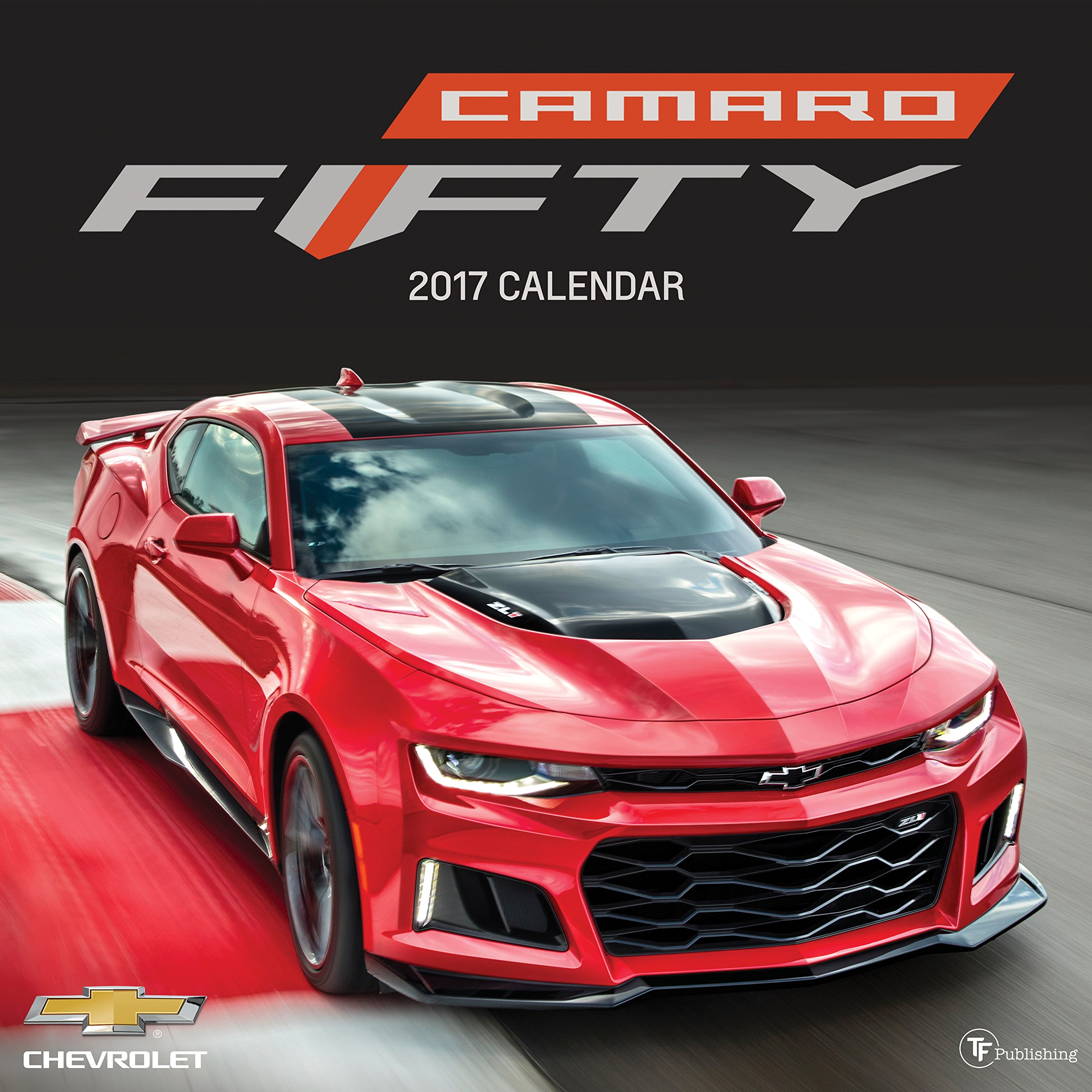 2017 Camaro 50th Anniversary >> 2017 Camaro 50th Anniversary Wall Calendar General Motors