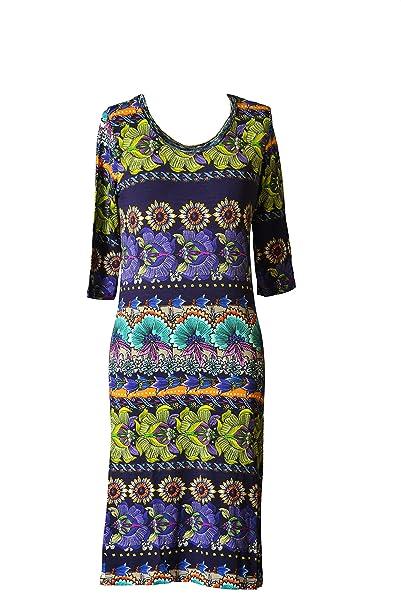 Amazon.com: Custo Barcelona Mujer Roy flor ajustado vestido ...