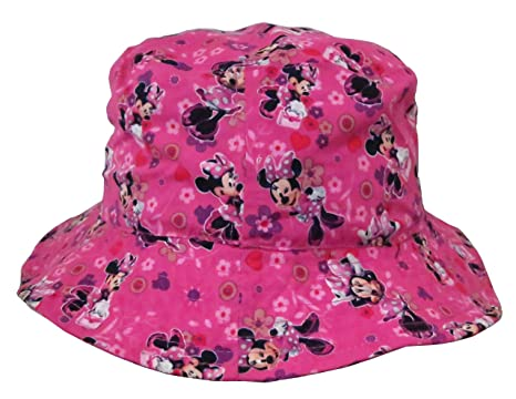 Image Unavailable. Image not available for. Color  Disney Minnie Mouse  Bowtique Pink Bucket Hat ... 03cf3a341fc