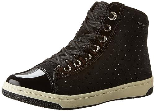 Geox bambino CREAMY sneakers nero scarpe bambina J64L5A  Amazon.it  Scarpe  e borse c9152917bed