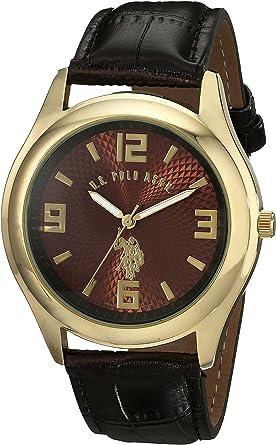 U.S.POLO ASSN. USC50127 - Reloj de Pulsera Hombre, Color Marrón ...