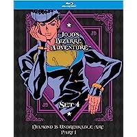JoJo's Bizarre Adventure Set 4: Diamond Is Unbreakable Part 1 (Limited Edition) (BD) [Blu-ray]