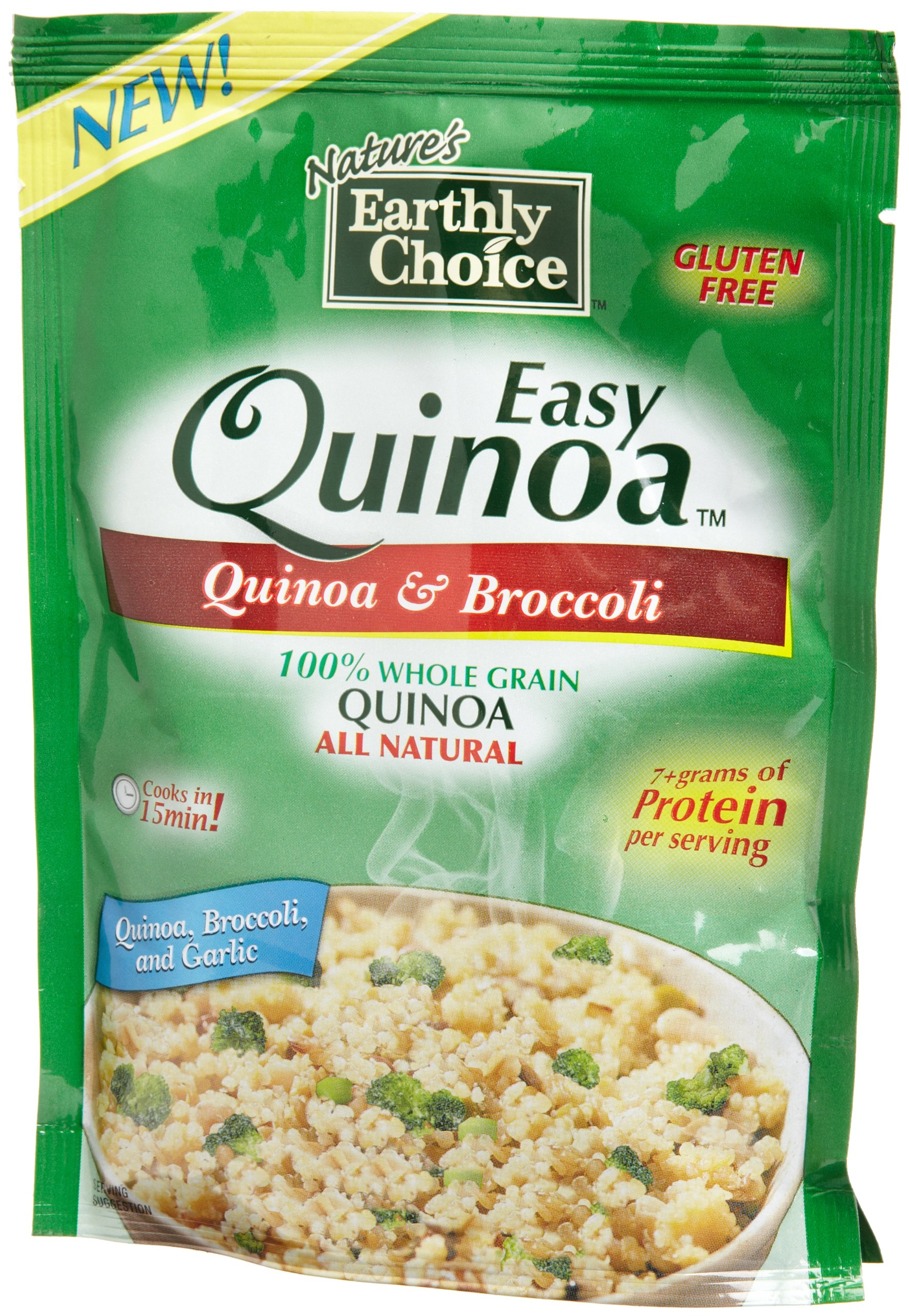 Nature's Earthly Choice Quinoa and Broccoli Pouch, 4.2 Ounce