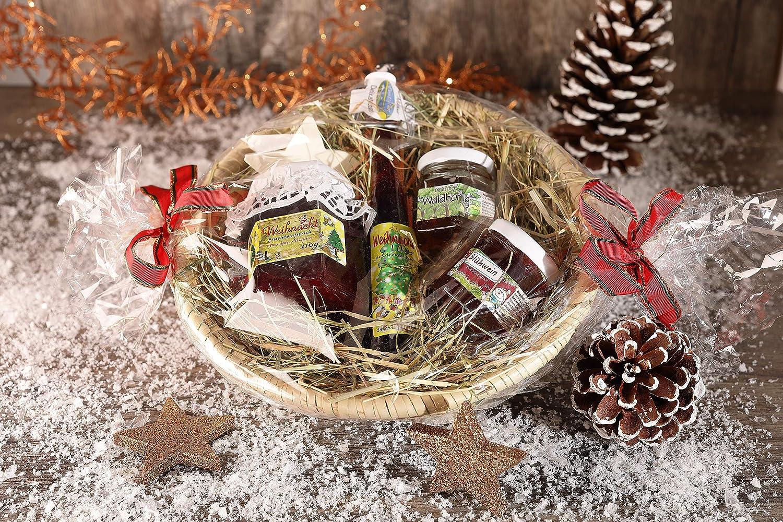 Weihnachts Geschenkkorb - Leckerer Präsentkorb zu Weihnachten inkl ...