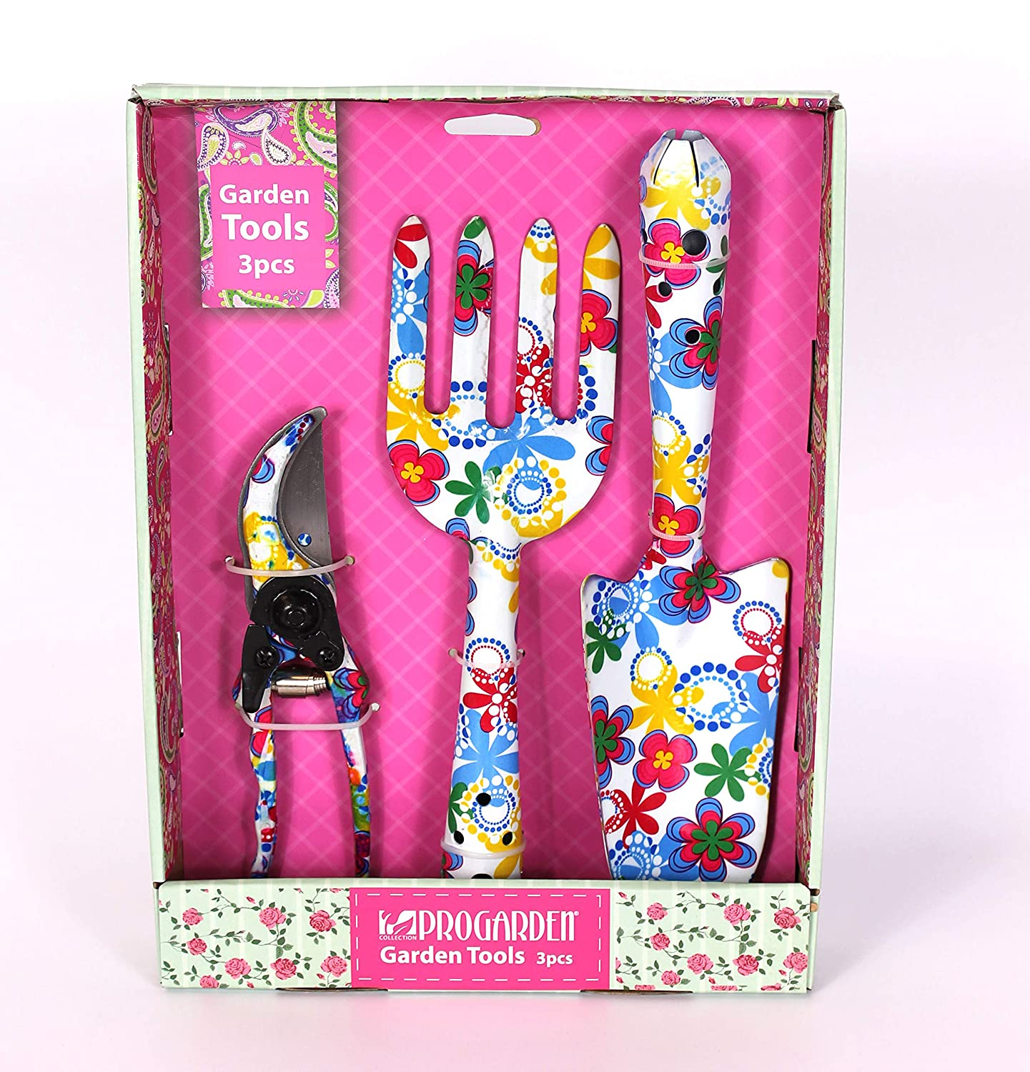 Garden Hand Tool Gift Set - Various designs available (Floral) Gardening-Naturally