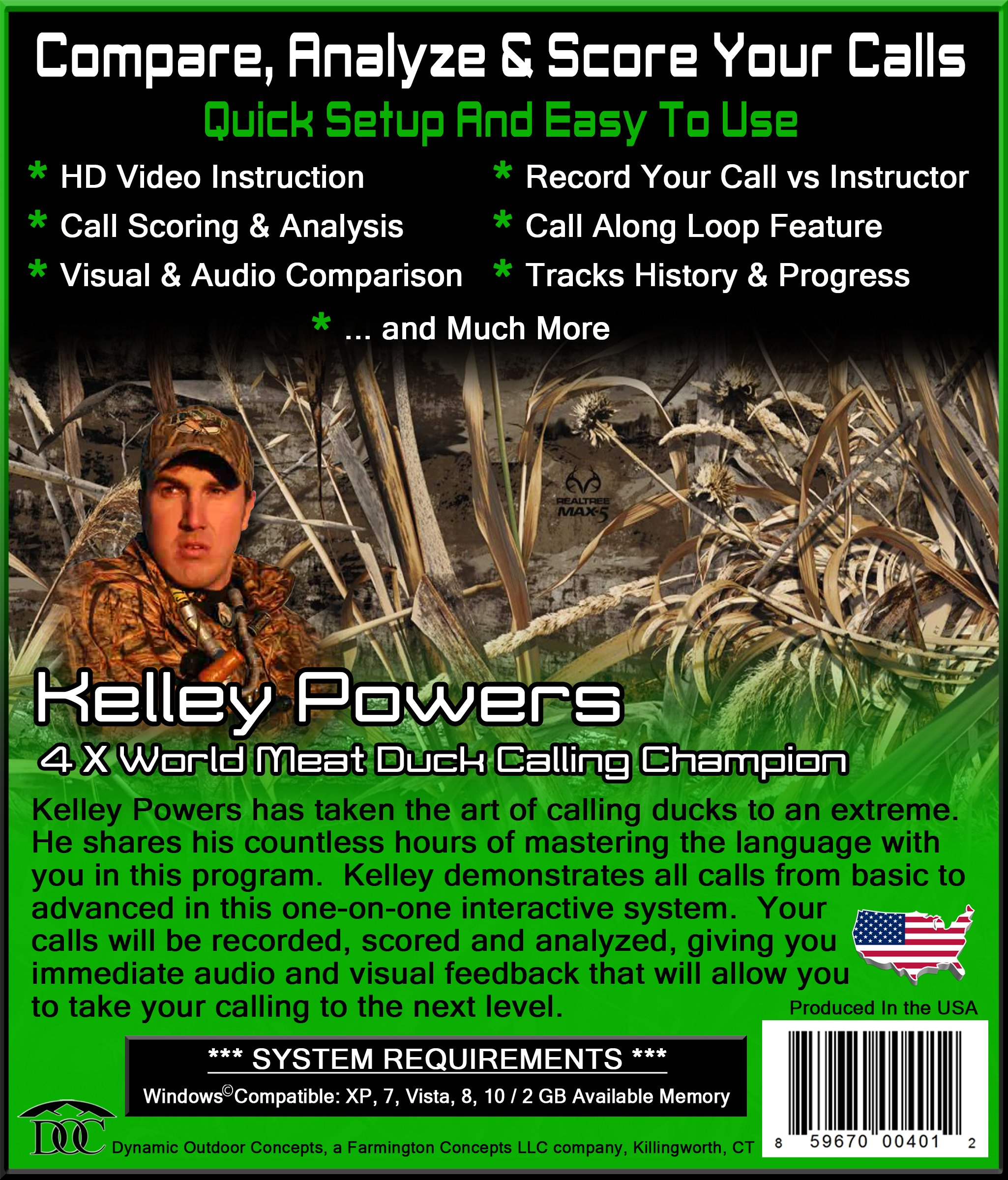 Conquer The Call Duck Call Interactive Software by DYNAMIC OUTDOOR CONCEPTS (Image #2)
