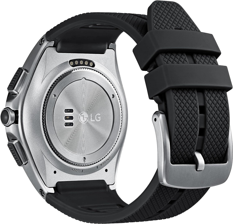 LG Urban 2 Reloj Inteligente Negro, Metálico P-OLED 3,51 cm (1.38
