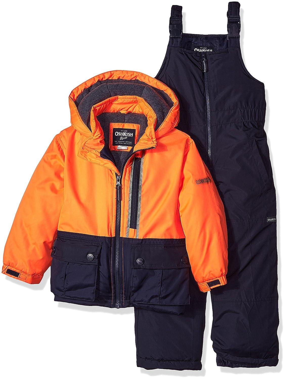 OshKosh boys Little Boys Orange Boys Hw Snowsuit B217es91 4 Osh Kosh