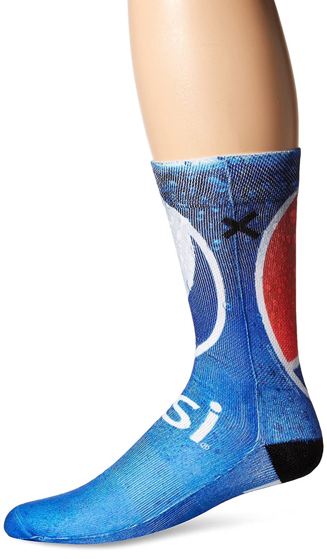 Odd Sox Men\'s Pepsi, Multi, Sock Size:10-13/Shoe Size: 6-12 at ...