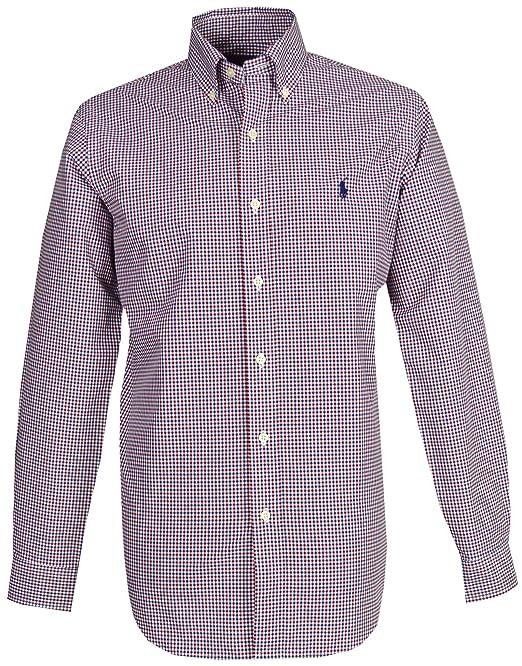 0cdde3a17d Ralph Lauren Camisa Casual - con Botones - Manga Larga - para Hombre   Amazon.es  Ropa y accesorios