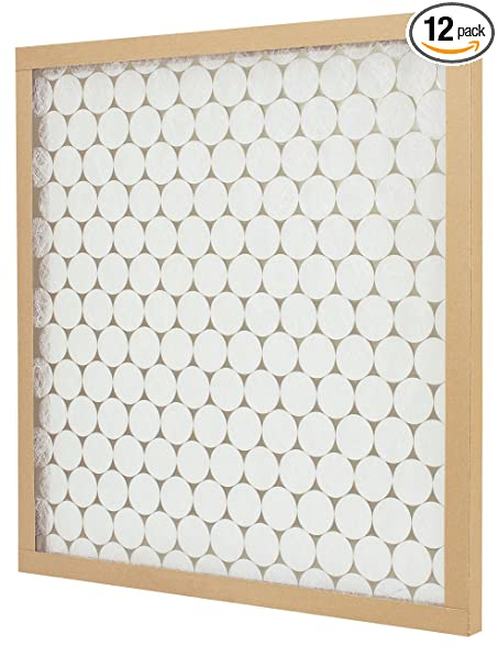 .com: e-z flow air filter, merv 4, 18 x 20 x 1-inch, 12-pack ...