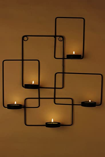 Tea light wall sconce latest swagger decorative wall hanging excellent swagger rectangular tealight holder wall hanging wall decor tea lite with tea light wall sconce mozeypictures Image collections