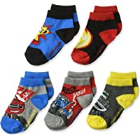 Blaze & The Monster Machines Little Boys' 5 Pack Shorty Socks, Assorted, One Size/5-6.5