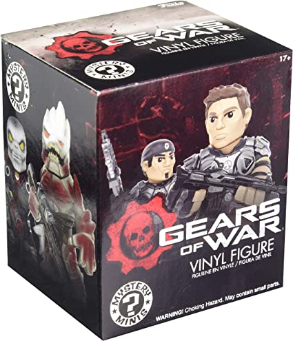 New Official 2X Gears of War FUNKO Mystery Minis Vinyl figures