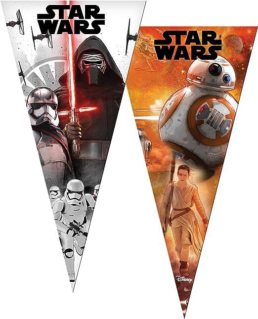 Disney 6 Bolsas de Fiesta * Star Wars Cono/Cumpleaños/Fiesta ...
