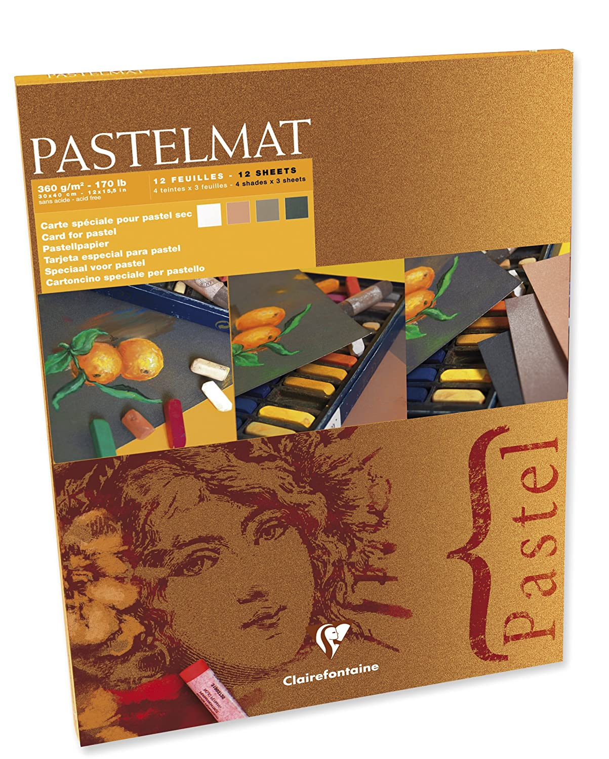Buy Clairefontaine Glued Pastelmat from Amazon