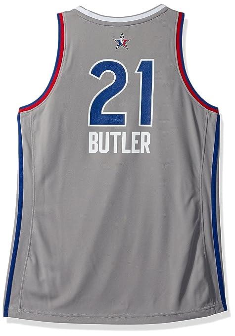 new arrival f224c 241e7 Amazon.com : adidas Jimmy Butler Chicago Bulls NBA Women's ...