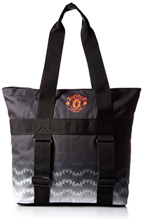 adidas Manchester United black unisex tote shoulder bag 40 x 35 x 15cm  AC5634