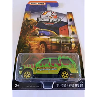 2020 Matchbox Jurassic World Legacy Collection Limited Edition - '93 Ford Explorer: Toys & Games