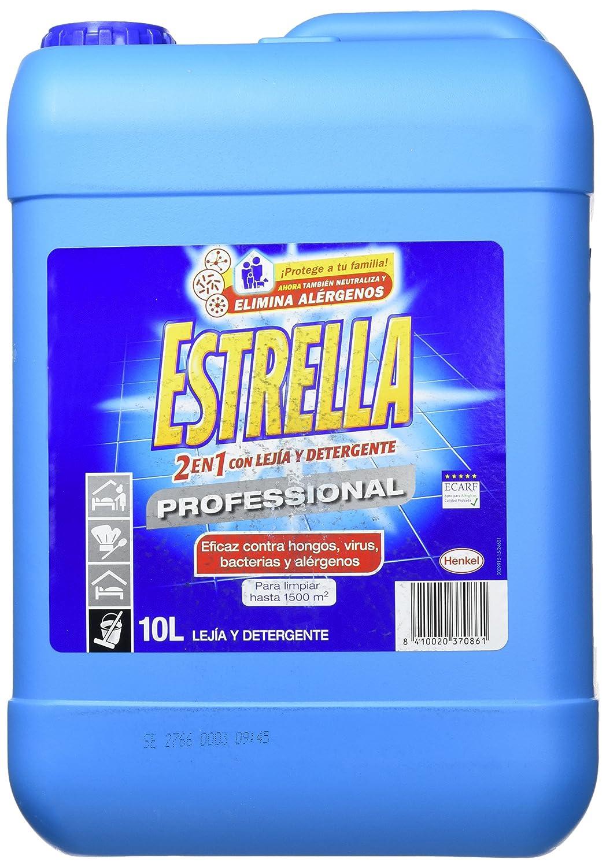 Estrella - Limpiador 2 en 1 con lejía y detergente - para uso ...