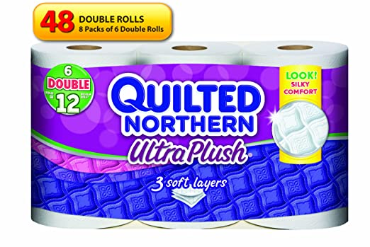 Amazon Quilted Northern Ultra Plush Bath Tissue 48 Double