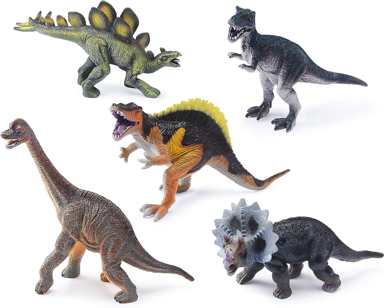 AD20184 Multi Animal Zone Dino Collectibles 5 Pk