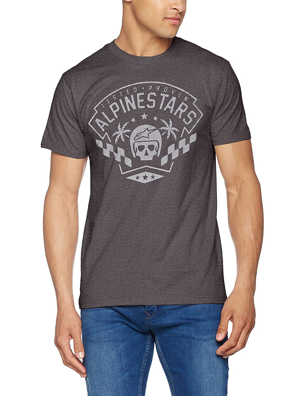 Alpinestars T-Shirt First Order Tee Charcoal Heather