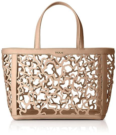 Tous 895890271, Bolso de Mano para Mujer, (Rosa), 15x25x32 cm