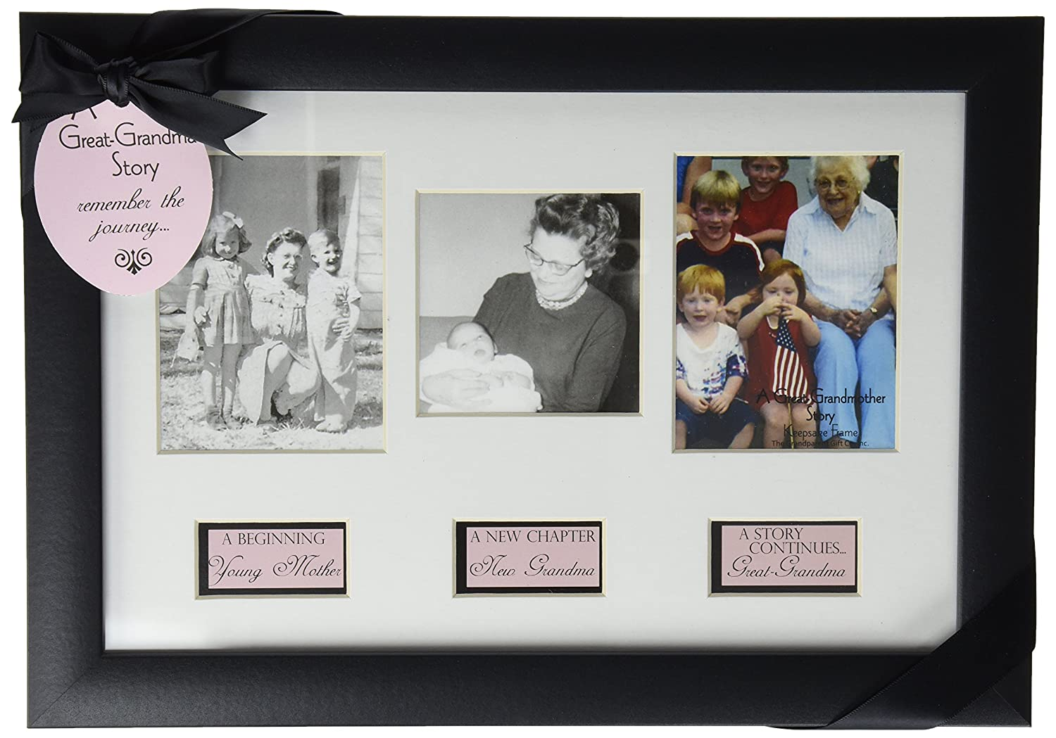 Amazon.com : The Grandparent Gift Life Story Frame, Great-Grandma ...