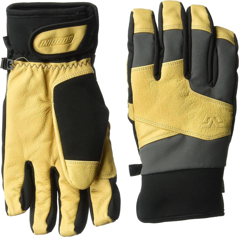 Gunmetal Tan M Gordini Herren Handschuhe MTN Crew