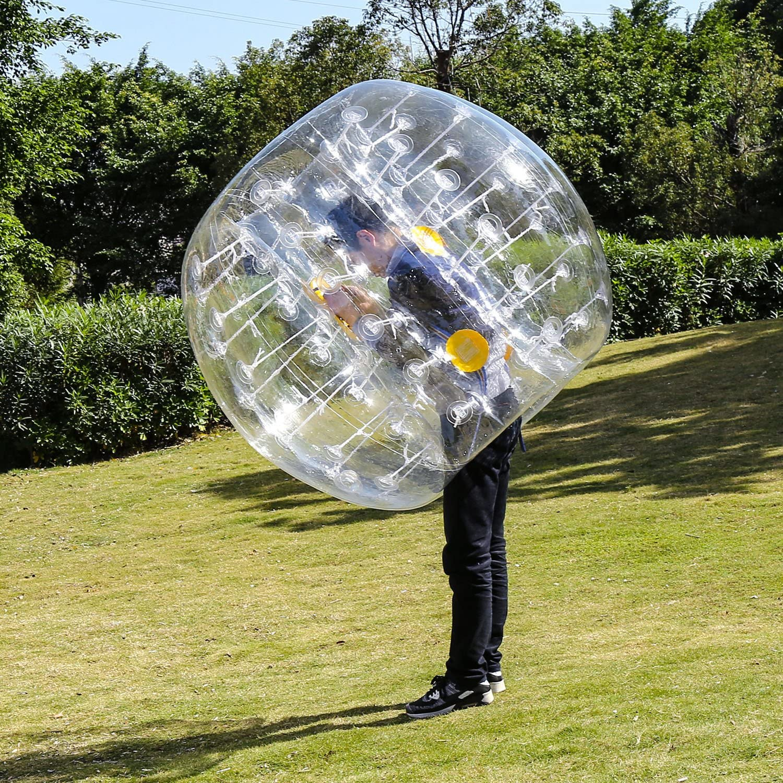Body Zorb Ball Dia 4FT//5FT 1.2m//1.5m YUEBO Bumper Bubble Soccer Balls for Kids//Adults