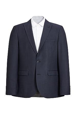 6fc0db527b63 Next Homme Slim Fit Veste De Costume À Motif Œil-De-Perdrix Texturé   Amazon.fr  Vêtements et accessoires
