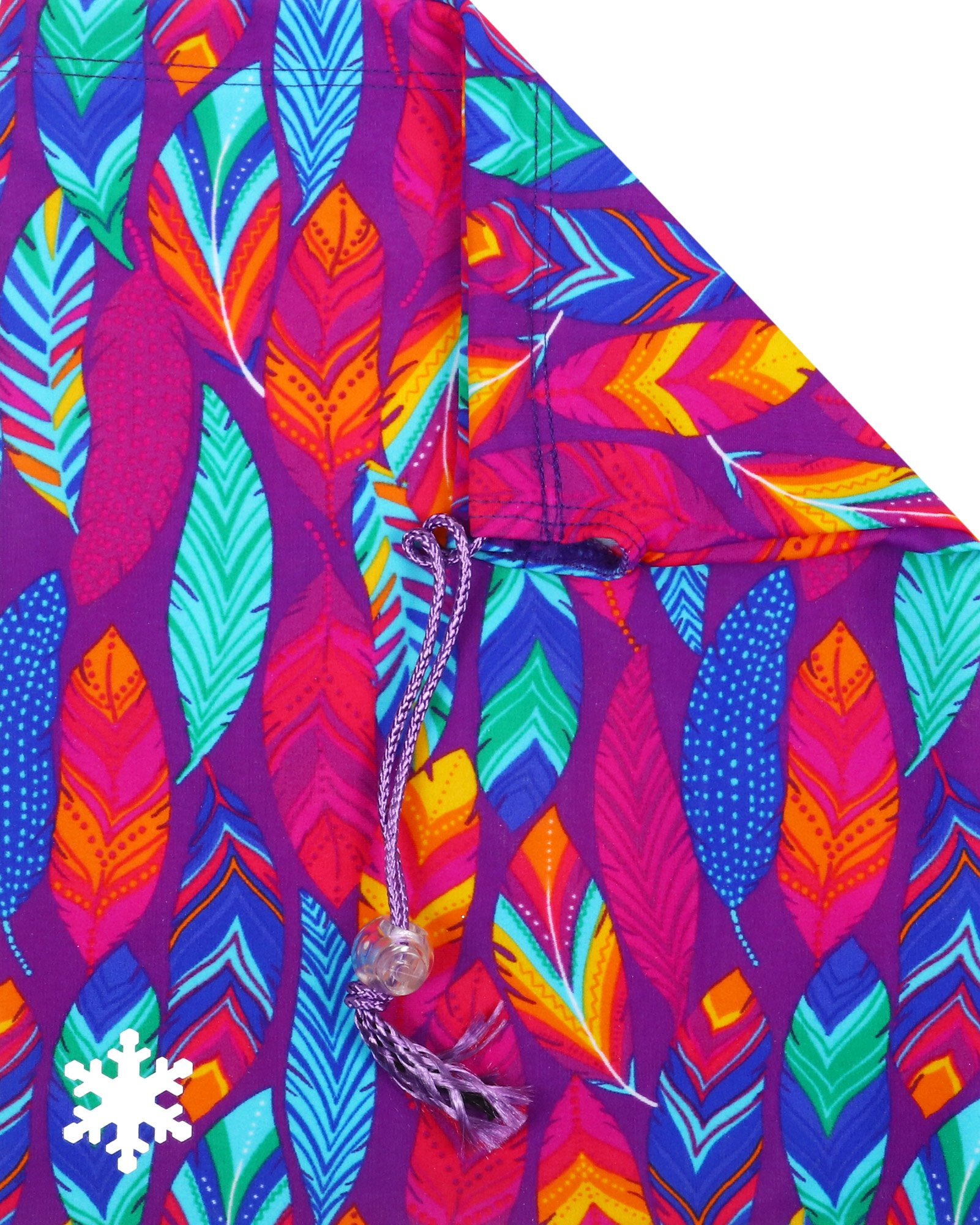 Snowflake Designs Feathery Fun Gymnastics Grip Bag