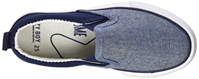 Amazon.com | Zippy Boys Plimsolls Espadrilles, Blue (Chambray ZBS06_430_9), 1.5UK Child | Slippers