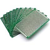 washati perforada de circuito impreso – Agujeros placas de doble cara, 5x7cm, ...