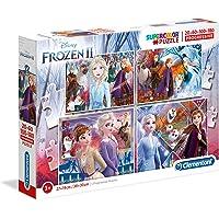 Clementoni 21411 Disney Frozen 2 Progresif Yapboz, 20+60+100+180 Parça