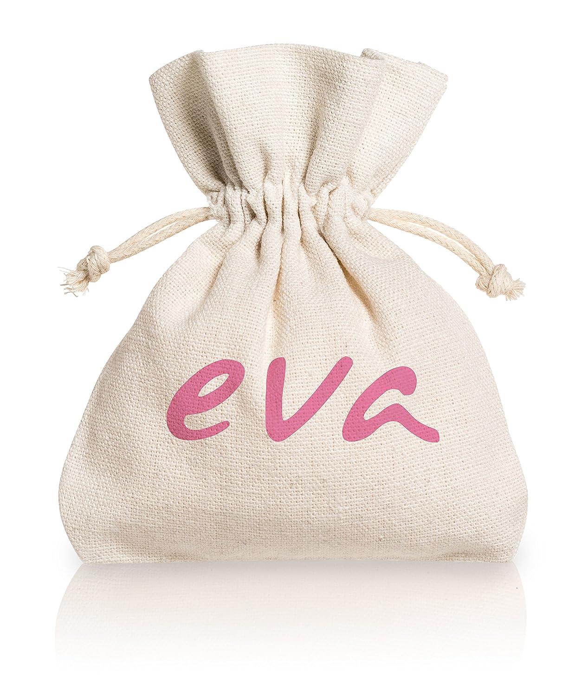 Eva - Kit con 2 Copas Menstruales Super-Soft + Spray Higienizante - 2 tallas y 2 colores (Small, Transparente): Amazon.es: Salud y cuidado personal