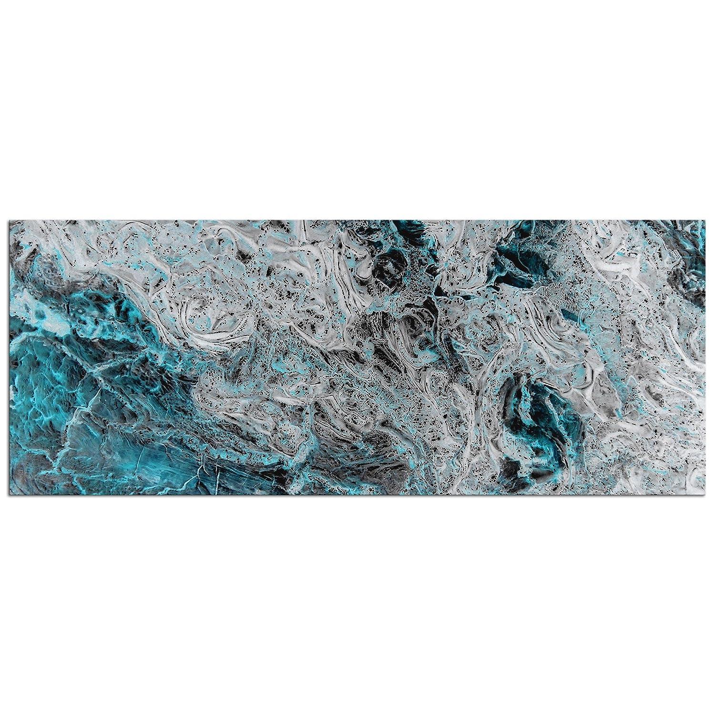 Amazon.com Abstract Teal Wall Art u0027Storm Turquoiseu0027 - Cool Tones Modern Artwork - Stormy Organic Design - Contemporary Decor - Metallic Giclée Painting ...  sc 1 st  Amazon.com & Amazon.com: Abstract Teal Wall Art u0027Storm Turquoiseu0027 - Cool Tones ...