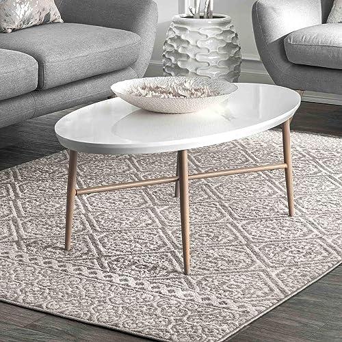 Best living room rug: nuLOOM Floral Jeanette Area Rug