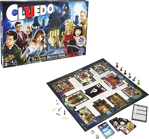 Hasbro Gaming - Juego en Familia Cluedo (Hasbro 387123480) (versión Inglesa): Amazon.es: Juguetes y juegos