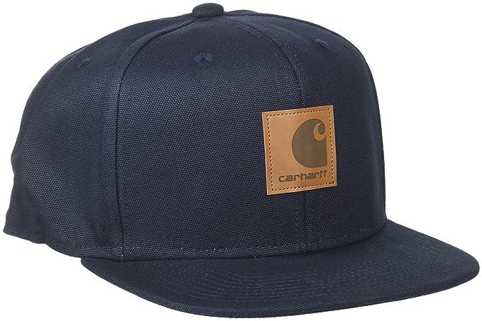 Carhartt Logo Cap (6 Minimum), Boina para Hombre, Azul (Dark Navy