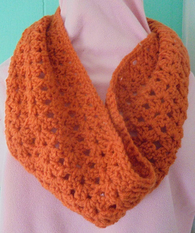 Amazoncom Cowl Hand Crochet Short Scarf Handmade