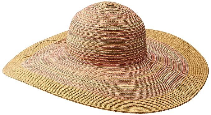435dd3a91a0 San Diego Hat Women s Mixed Braid Large Brim Floppy