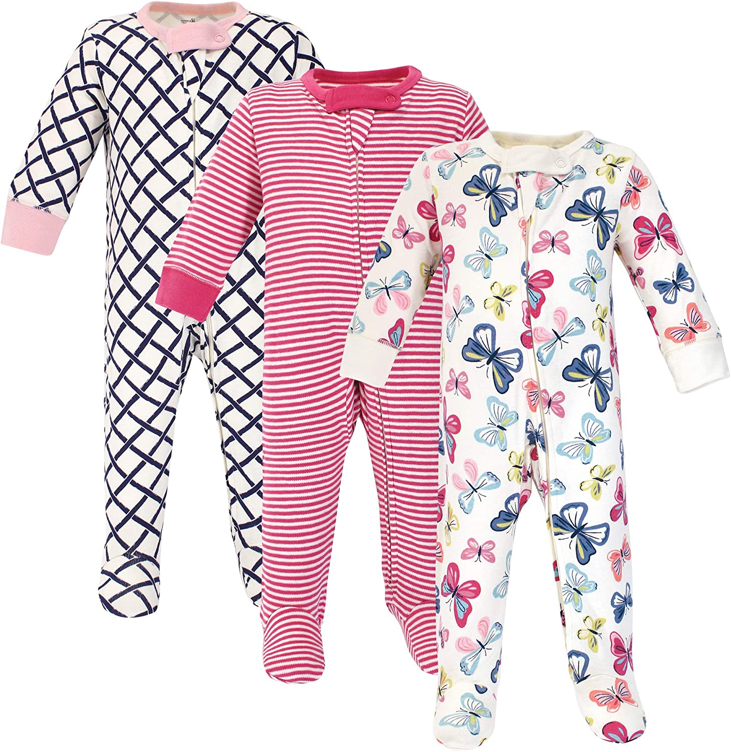 Touched by Nature Baby Organic Cotton Sleep and Play Sleepers