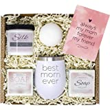 Birthday Gifts for Mom - Best Relaxing Spa Gift Box Basket for Moms Mothers from Daughter Son Kids - Bath Set w/Tumbler…
