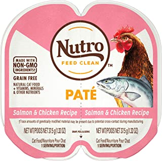 product image for NUTRO Perfect Portions Grain Free Natural Wet Cat Food, Paté