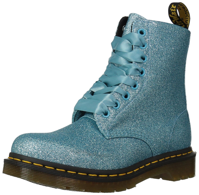 Dr. Martens Women's 1460 Pascal Glitter Fashion Boot B078ZL1W7B 5 Medium UK (7 US)|Turquiose