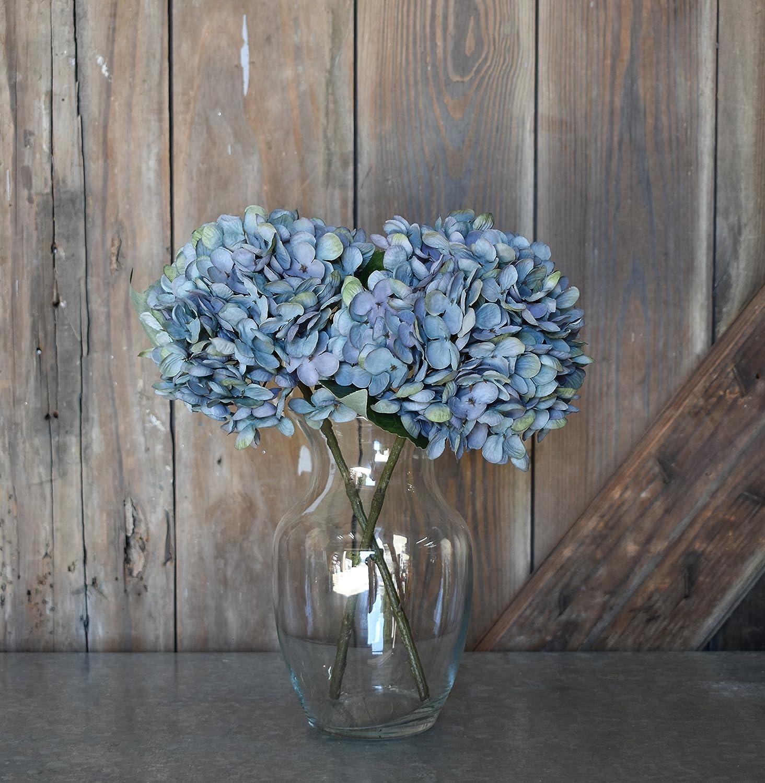 Amazon Hydrangea Pick 13 Faux Blue Set Of 6 Floral Picks
