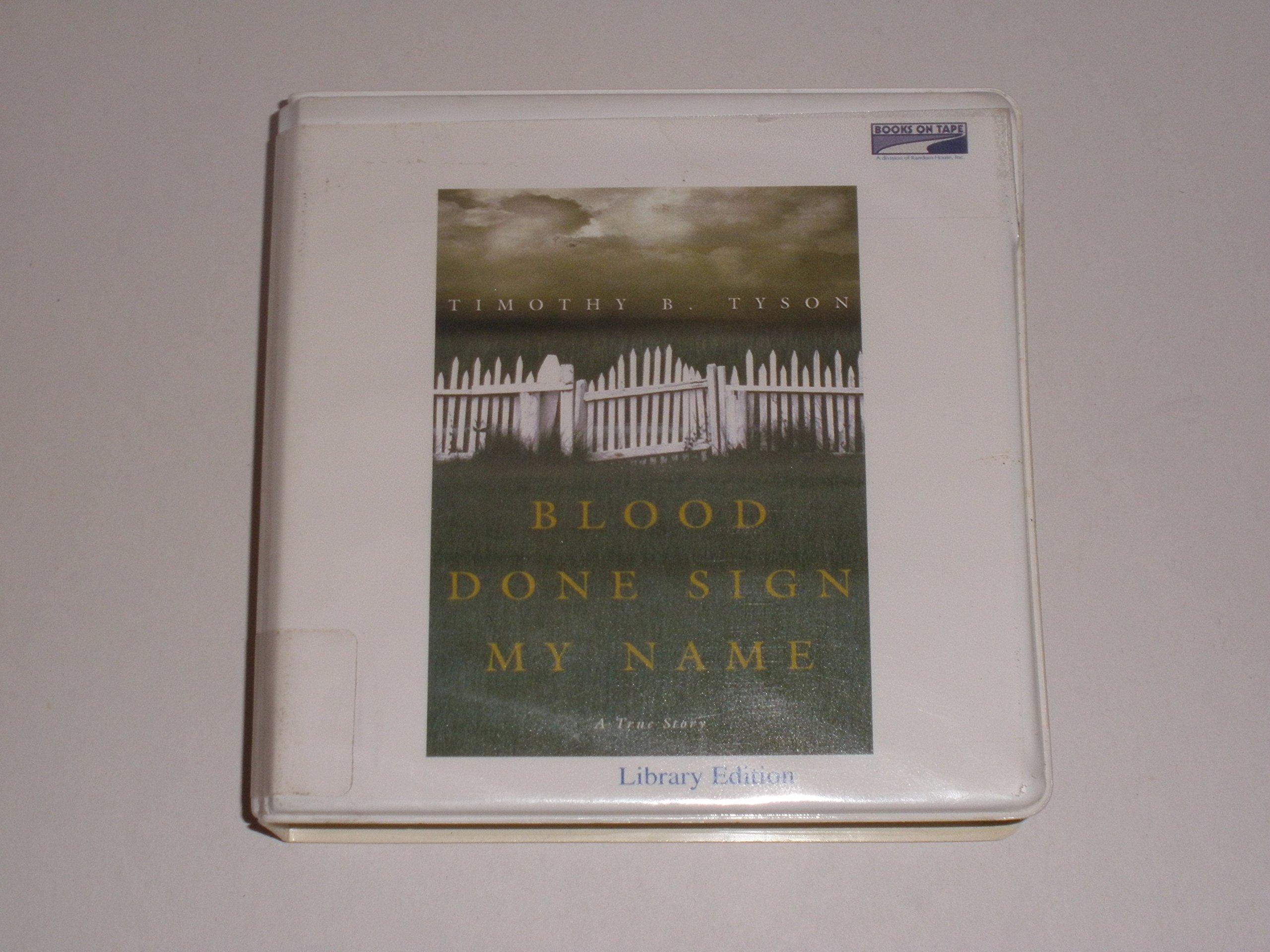 Blood Done Sign My N (Lib)(CD)